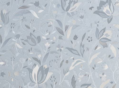 Brewster PF0713 Cut Floral Premium Privacy Film Door