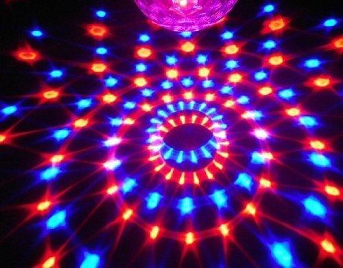 Kk light luce a sfera da discoteca telecomando per mp3 effetti