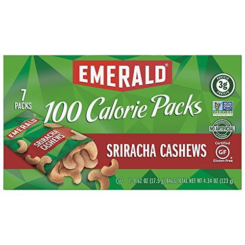 Emerald Sriracha Cashews Calorie Packs