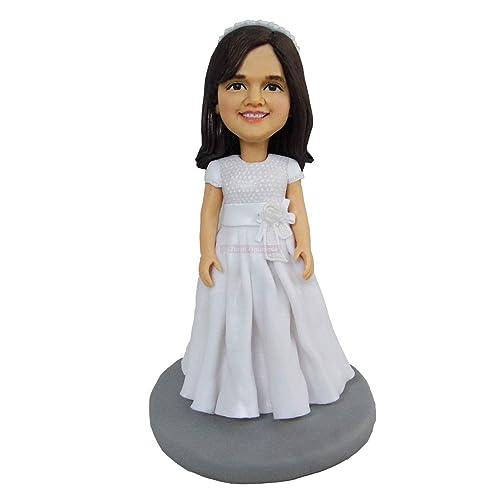 primera comunión niña micro figuritas estilo españa personas esculpidas figura figura de acción para niños muñecas de arcilla mini estatua de arcilla personalizada de cerámica: Amazon.es: Handmade