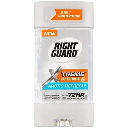 Rt Gd Xtm Gel Ap Artic Size 4z Right Guard Xtreme Clear Arctic Refresh Power Gel Antiperspirant Deodorant