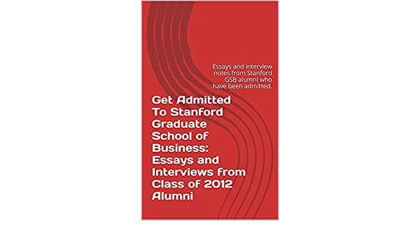 Amazon com: Get Admitted To Stanford Graduate School of