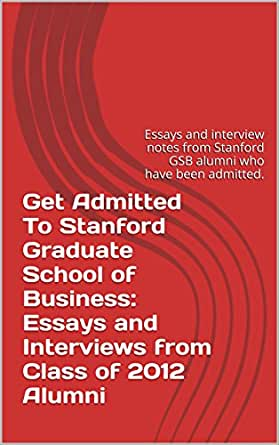 how to get into stanford gsb