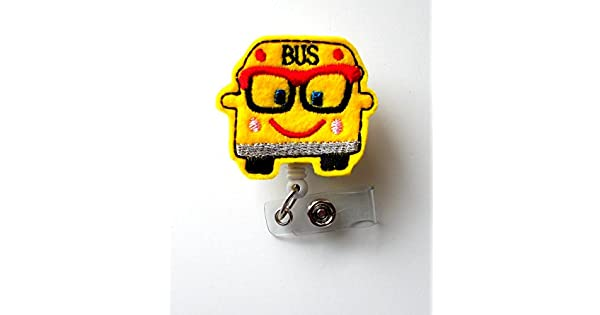 Amazon.com: Bobby el autobús – Retráctil ID Badge Reel ...