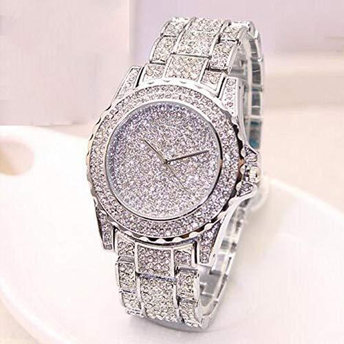 - Diamond Bangle Bracelet Luxury Brand Fashion Mens Watches Luxury Saat Diamonds Male Clock Analog Quartz Vogue Wrist Watch Relogio Masculino