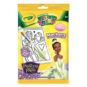 Amazoncom Crayola Color Wonder Mini Coloring Pages Disney