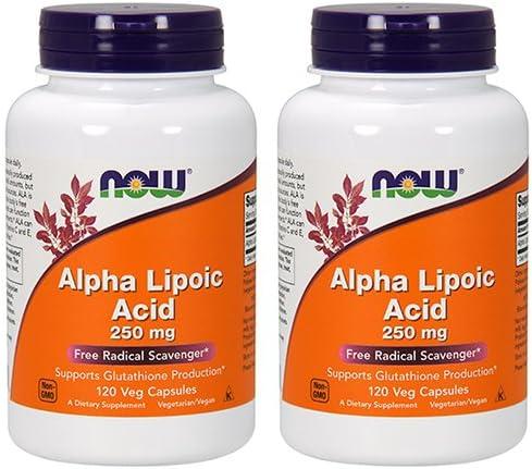 Now Alpha Lipoic Acid (2 Pack)
