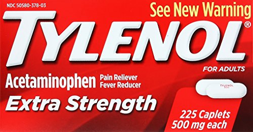 Tylenol Extra Strength Caplets, 225 Count
