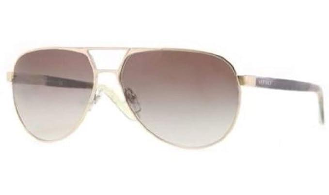 7ed54049c1 VERSACE Sunglasses VE 2142 12528E Pale Gold Green 60MM  Amazon.co.uk   Clothing
