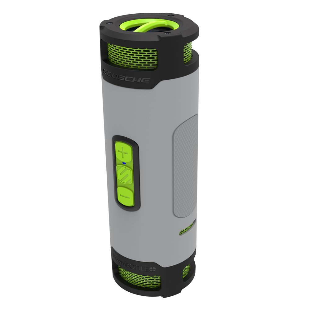 Scosche Boombottle Rugged Waterproof Portable Wireless Baby Boomer 600w Dual 8quot Subwoofer Electronicswoot Bluetooth 40 Speaker 360 Degree 12 Watt 50mm Speakers With And Indoor Outdoor Eq Functions Tech Sport Gray Btbptsgy Electronics