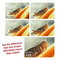 Digital Concepts cl-58 Conjuntos de filtros de lentes de cámara de múltiples capas de 58 mm y 4 piezas