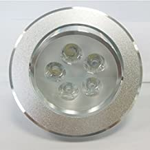 Dimmable Silver LED Potlight 3.5 inch. 7W (=65W incandescent), 6500K - cool white, 35,000 hrs lifespan, Saves 85% energy efficient, Ceiling Light, LED Spot light, Pot light, Perfect for Basements, Kitchens, Washrooms