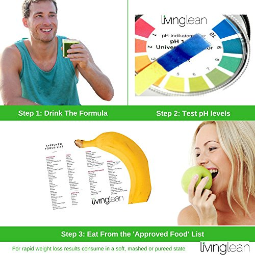 Living Lean Weight Loss Cleanse Kit for 15 Days - Natural Organic - Alkaline Your Body for Sustainable Weight Loss & Digestion Support-Colon, Kidney, Liver & Bowel Cleanser - High Strength by Living Lean (Image #2)