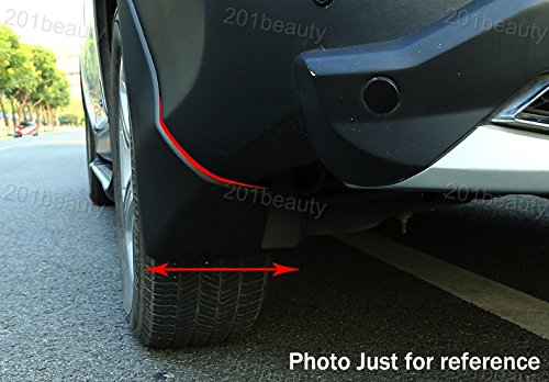 4pcs Front Rear Car Mud Flaps Splash Guards Protective Fender Mudguards Mudflaps Mud Guards Custom