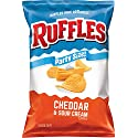 Ruffles Cheddar & Sour Cream Flavored Potato Chips, Party Size! (13 Ounce)