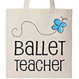 Inktastic - Ballet Teacher Gift Idea Tote Bag Natural 17c4a
