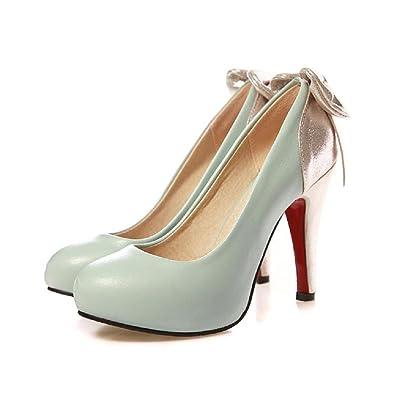 31791e1dafd37 Charm Foot Fashion Bows Ladies Womens Platform High Heel Mary Jane Pumps  Shoes