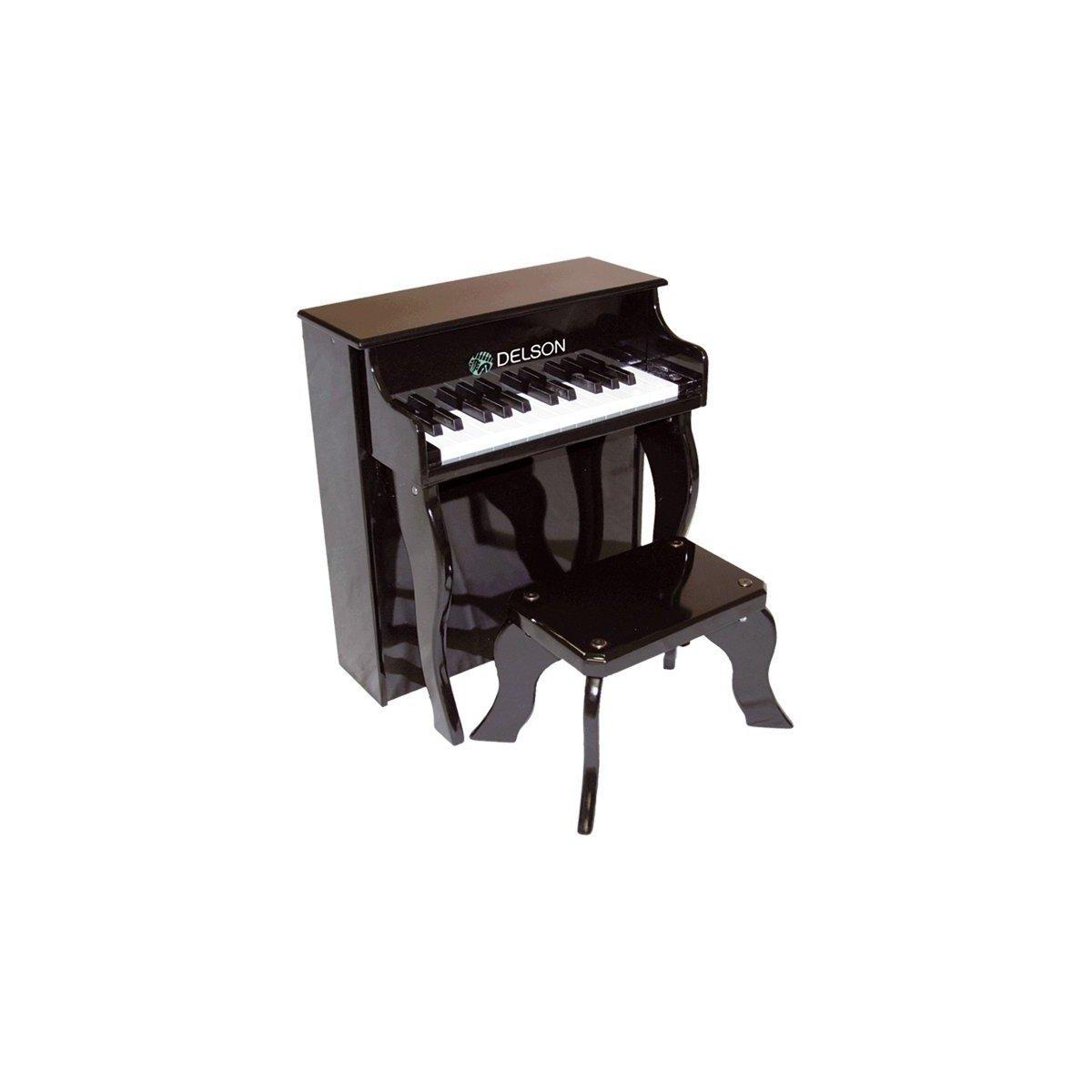 Delson 2505BK - Piano para niños, color negro