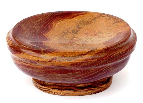 (Nature Home Decor 303ML Multi Onyx Soap Dish of Atlantic Collecction)