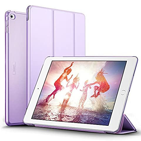 iPad Air 2 Case, ESR Smart Case Cover [Synthetic Leather] Translucent Frosted Back Magnetic Cover with Auto Sleep/Wake Function [Light Weight] (Fragrant (Ipad 2 Air Magnetic Cover)