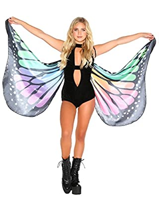 iHeartRaves Butterfly Wings Colorful Accessory