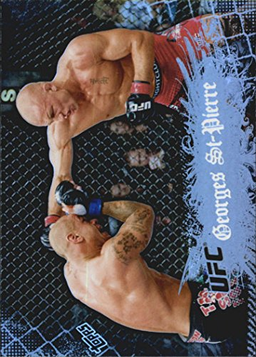 2010 Topps UFC Main Event #100 Georges St-Pierre - - 100 St Main