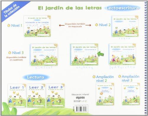 El jardín de las letras. Consonantes 2. Educación Infantil. Educación Infantil Algaida. Lectoescritura - 9788498775747: Amazon.es: Campuzano Valiente, María Dolores: Libros