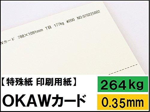 OKAWカード 264kg A3 100枚 B07CXHGBJ5  A3:100枚