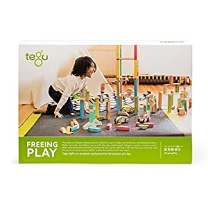Tegu Expansion Pack Extra Large Tints Building Blocks (60 Piece)