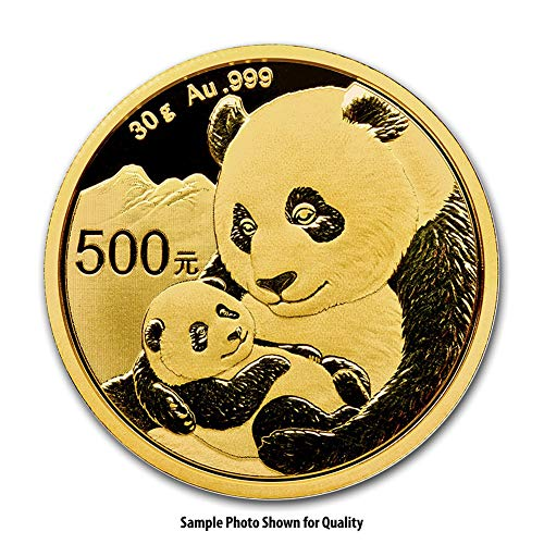 2019 CN 30 Gram Gold Chinese Panda Gold Brilliant Uncirculated ()