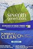 organic liquid dishwasher soap - Seventh Generation Automatic Dishwashing Powder, Free & Clear, 45 oz