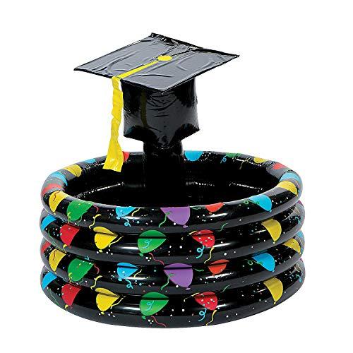 Fun Express - Inflate Graduation Cooler for Graduation - Toys - Inflates - Inflatable Coolers - Graduation - 1 Piece -