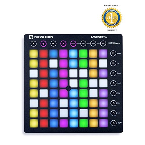 Novation Launchpad Ableton Live Controller with 64 RGB Backlit Pads (8×8 Grid) (Renewed)