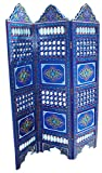 Handmade Moroccan Room Divider Wood Screen Partition Panel Wall Separation
