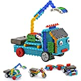 PACKGOUT Remote Control Building Kits for Boy Gifts, STEM Robot Kit Building Toys for Teen/Boy Gifts Building Blocks Construction Set Your Own RC Machines