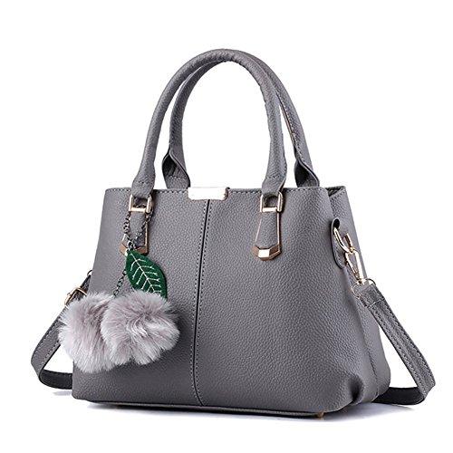 Unknown - Bolso mochila  para mujer Morado morado gris