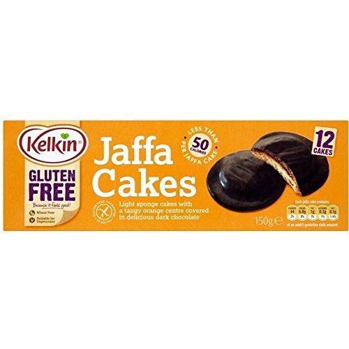 Kelkin Gluten Free Jaffa Cakes (150g) - Pack of 2 (Jaffa Cakes Biscuits)
