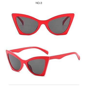 YLNJYJ Gafas De Sol Diseñador De La Marca Cat Eye Gafas De ...