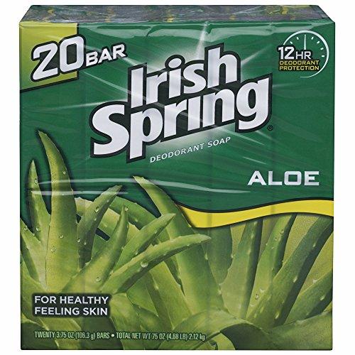 irish-spring-aloe-bar-soap-375-oz-pack-of-20-bars