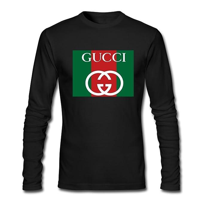 5333e78d8d Gucci - Maglia a manica lunga - ragazzo Black XL/11-12 Anni: Amazon ...