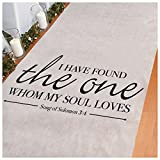 Unbranded* Song of Solomon Aisle Runner Party Supplies Party Decorations
