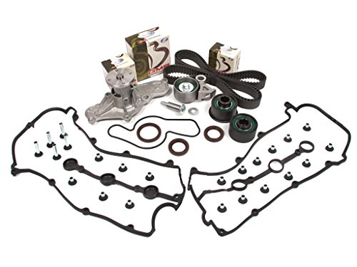 Evergreen TBK214VCT Fits Mazda MX3 MX6 626 K8 V6 K8 KL DOHC Timing Belt Kit Valve Cover Gasket Water Pump ()