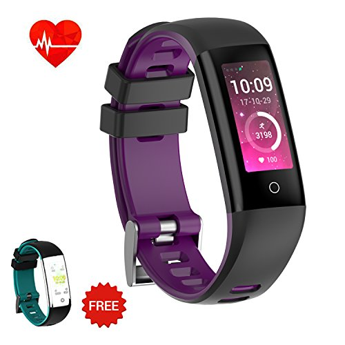 AUNEY Fitness Tracker Color Screen Sport Band Smart Wristband Bracelet Waterproof Activity Heart Rate Sleep Monitor Pedometer sport band for IOS and Android 51vind9dJVL  Home Page 51vind9dJVL
