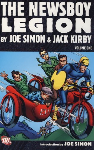 Zebra Newsboy - The Newsboy Legion by Joe Simon and Jack Kirby (Star Spangled Comics) by Joe Simon (2010-05-28)