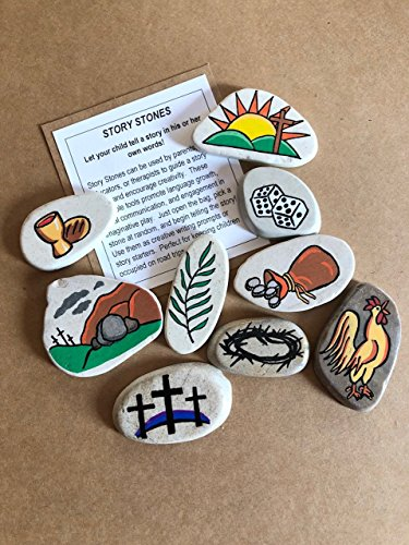 Easter Resurrection Story Stones