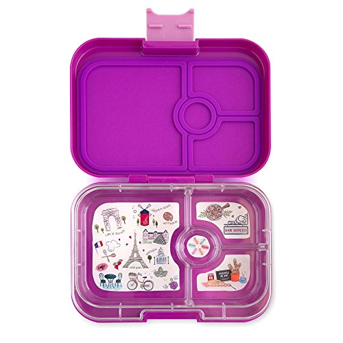 Yumbox Leakproof Bento Lunch Box Container for Kids and Adults (Bijoux - Bag Box Yumbox Lunch
