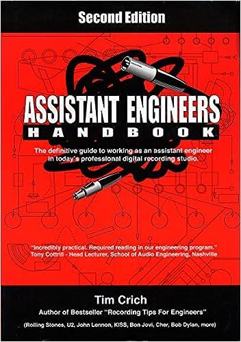 Amazon assistant engineers handbook 9780969822332 tim assistant engineers handbook 2nd edition fandeluxe Choice Image