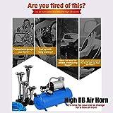 150DB Super Loud Train Horns kit for Trucks, 4
