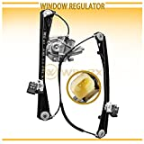 WIN-2X New 1pc Front Passenger (Right) Side Power Window Regulator & Motor Assembly Fit 00-02 Lincoln LS 00-01 Jaguar S-Type 02 VIN Up To M45254
