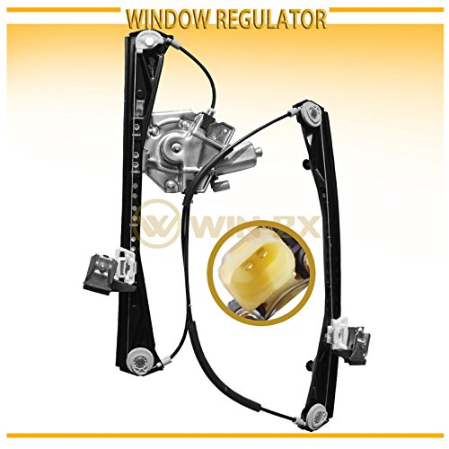 WIN-2X New 1pc Front Passenger (Right) Side Power Window Regulator & Motor Assembly Fit 00-02 Lincoln LS 00-01 Jaguar S-Type 02 VIN Up To M45254 by WIN-2X